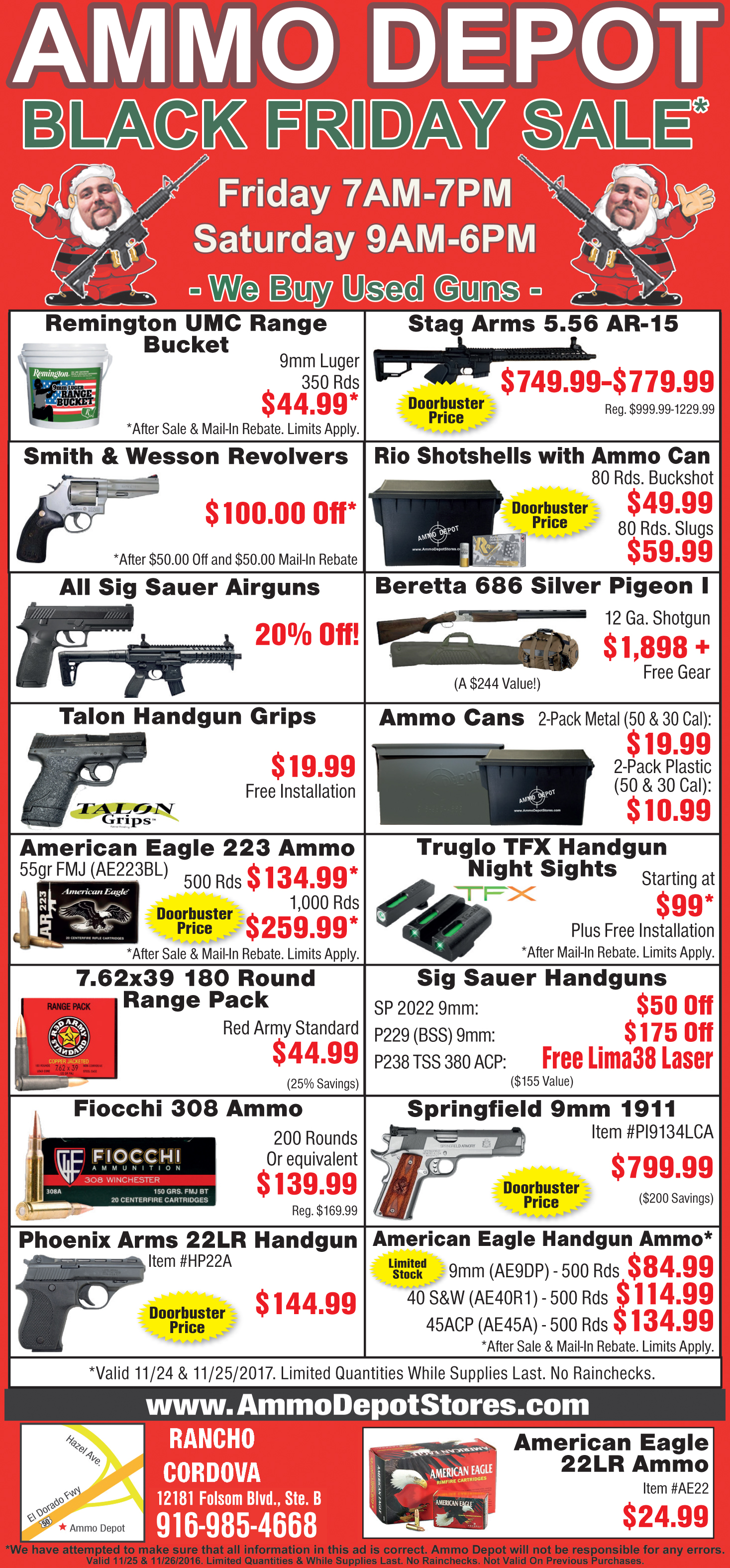 Black Friday Specials Ammo Depot